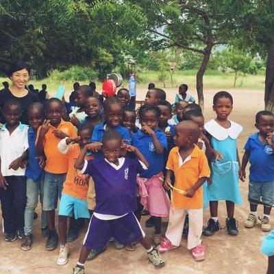 ガーナで公衆衛生 安達恵